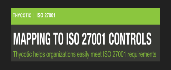 Let Thycotic plug the holes in your ISO27001 accreditation!